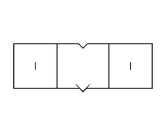 blocks,outline,lines logo