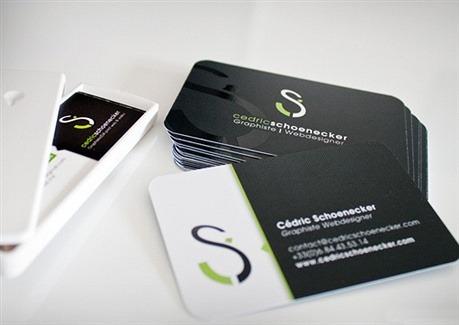 fancy,round corner business card