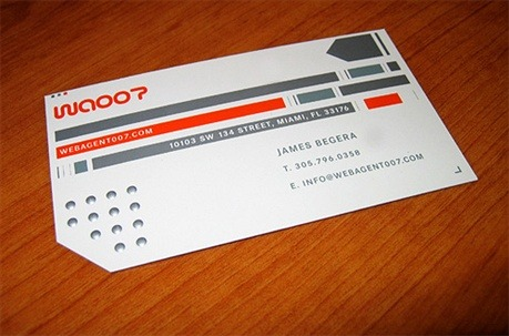 WA007 business card