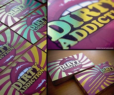 multi color,silk laminated,stylish business card