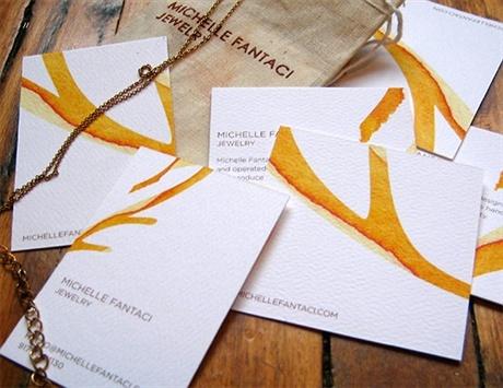 Michelle Fantaci Jewelry business card