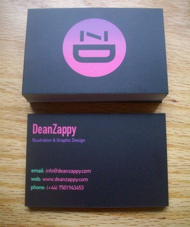 fluorescent,earthy surface,multi color business card