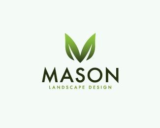 Mason Landscape Design - Logo Design Inspiration