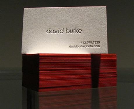 cotton paper,letterpress,thick paper business card