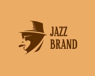 face,hat,jazz logo