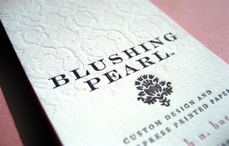 cotton paper,letterpress,textured paper business card