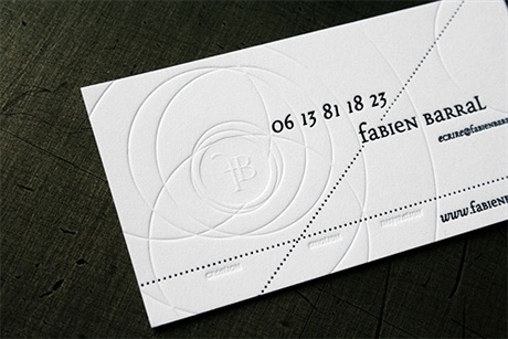 minimalistic,textured paper business card