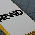 FRWD Letterpress Cards