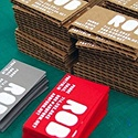 Cardboard Hand Pressed