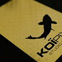 Koi Pixel Luxury Card