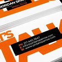 Sticker Look Business Card