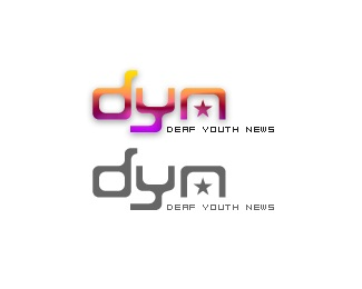 Deaf Youth News logo
