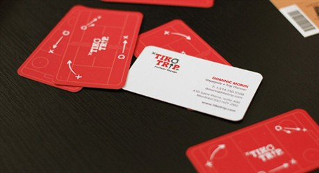 Tiko Trip Design business card