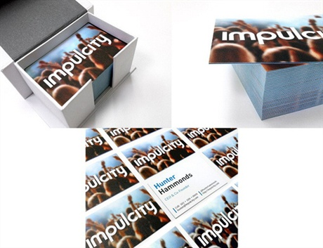 Impulcity Business Card business card