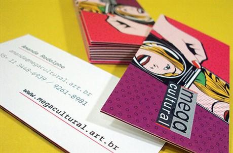 Mega Cultural Design Cards business card