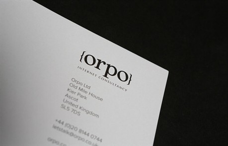Orpo business card