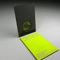 Bold Neon Card Design
