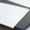 Charcoal Grey Letterpress