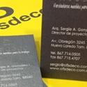 Ofisdeco Business Card
