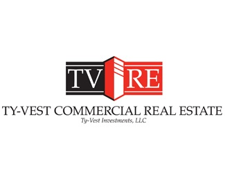 building,red,commercial,realty logo