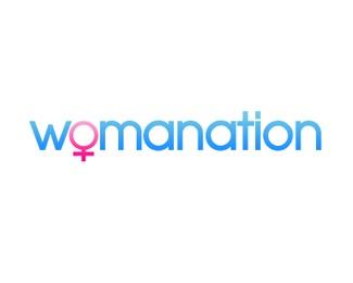 social,woman logo