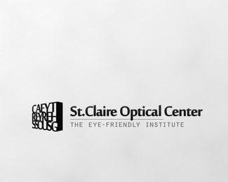 design,logo,optical,oftalmology,st.claire logo