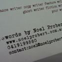 Vintage Typewriter Design
