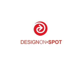 arrow,circle,spot logo
