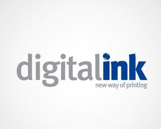 black,digital,cyan,magenta,industrial logo