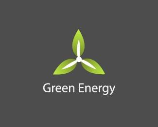 leaf,wind,leaves,eco,turbine logo