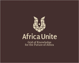 brown,fire,gold,fish,africa logo