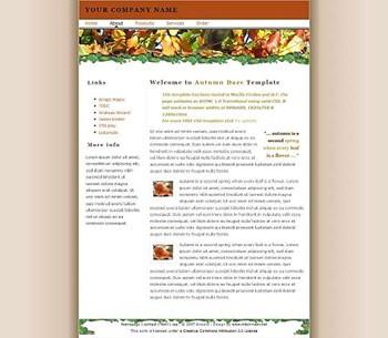 business,corporate,nature website template