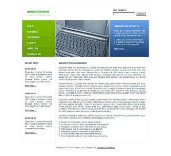 corporate,technology website template